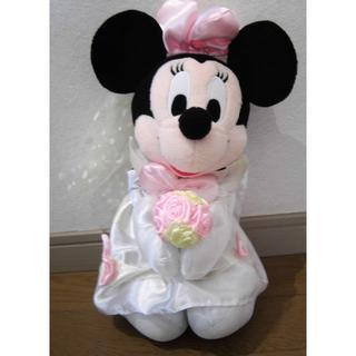 ディズニー(Disney)のミニーマウス ウェディングドレス(ぬいぐるみ)