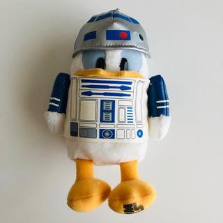 ディズニー(Disney)のドナルド ぬいぐるみ R2-D2(キャラクターグッズ)