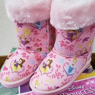 ディズニー(Disney)のディズニープリンセス ムートンブーツ(ブーツ)