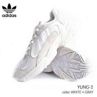 アディダス(adidas)の希少新品!アディダス(Adidas Yung-1)メンズスニーカー(スニーカー)