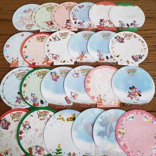 ディズニー(Disney)のディズニーメモ♡バラメモ♡クリスマス2009(ノート/メモ帳/ふせん)