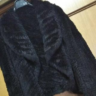 スペッチオ(SPECCHIO)の美品♪ラビットファーカーディガンボレロ(毛皮/ファーコート)