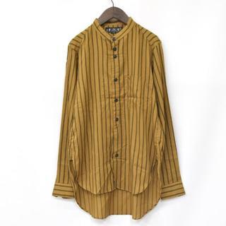 バル(BAL)の16SS 美品 BAL バル バンドカラーシャツ ロングシャツ サイズ M(シャツ)