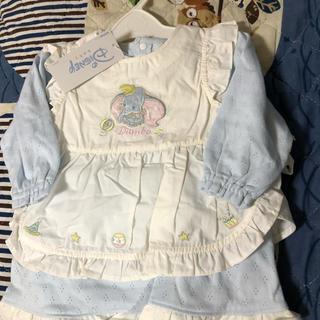 ディズニー(Disney)のメ 1053  新品 ディズニーベビー 70 ドレス 定価3,900円(カバーオール)