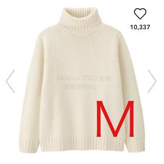 ジーユー(GU)のGU 完売 ローゲージタートルネックセーター(ニット/セーター)