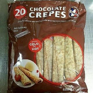コストコ(コストコ)のフランス産 チョコクレープ 1袋(菓子/デザート)