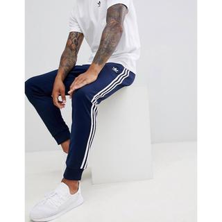 アディダス(adidas)の【Sサイズ】新品タグ付 adidas スーパースター トラックパンツ ネイビー(その他)