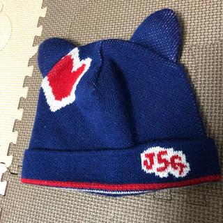 ジェーエスジー(JSG)の新品同様 JSG ニット帽(ニット帽/ビーニー)
