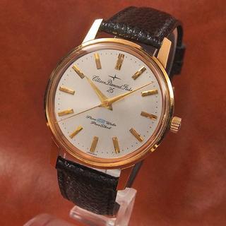 シチズン(CITIZEN)のシチズン ダイヤモンドフレーク パラウォーター 未使用ケース 手巻き(腕時計(アナログ))