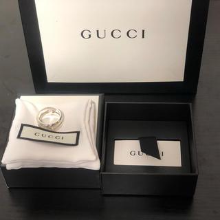 グッチ(Gucci)のGUCCI ノットリング [19号] 美品!(リング(指輪))