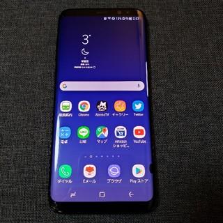 サムスン(SAMSUNG)のSAMSUNG au Galaxys8+(スマートフォン本体)