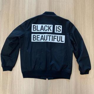 セ・バントゥア(XXlll)の定価7万 BLACK IS BEAUTIFUL ジャケット セバントゥア XL(ナイロンジャケット)