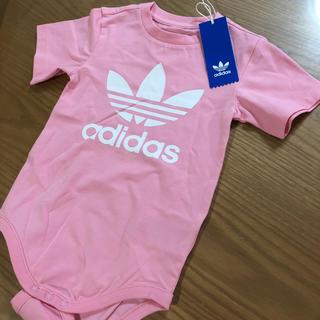 アディダス(adidas)のアディダス 100ピンク(Tシャツ/カットソー)