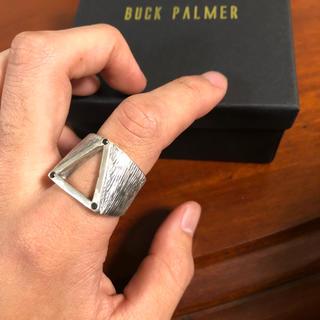 クロムハーツ(Chrome Hearts)のBUCK PALMER ブラックダイヤリング(リング(指輪))