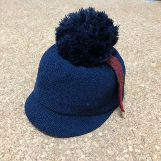 シマムラ(しまむら)のキッズ キャップ ポンポン(帽子)