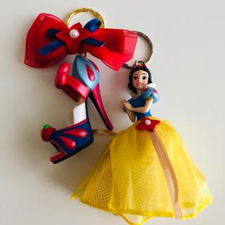 ディズニー(Disney)の白雪姫 キーホルダー セット(キャラクターグッズ)