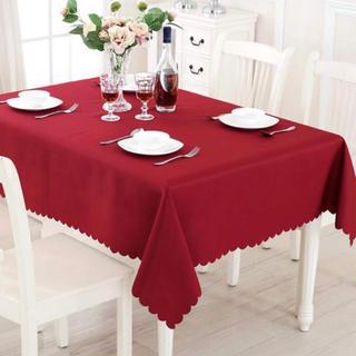 テーブルクロス 赤 (テーブル用品)
