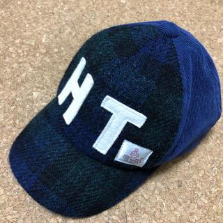 シマムラ(しまむら)のキッズ ハリスツイード キャップ(帽子)