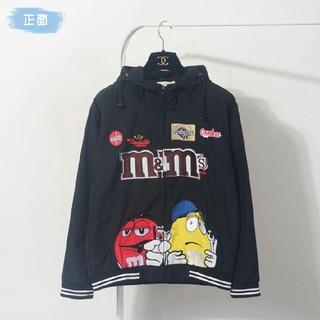 M&M's パーカー ロゴtシャツ  Lサイズ (スカジャン)