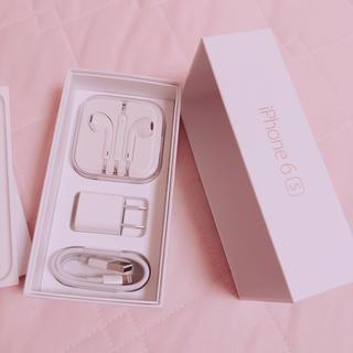 アップル(Apple)のiPhone6s イヤホン 充電器(バッテリー/充電器)
