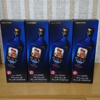 ニッカウイスキー(ニッカウヰスキー)のブラックニッカ ブレンダーズスピリット 4本(ウイスキー)