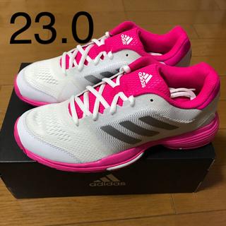 アディダス(adidas)のアディダス テニスシューズ バリケードクラブ オムニ 23.0(シューズ)
