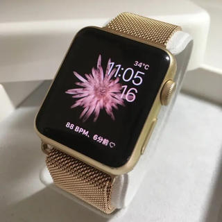 アップルウォッチ(Apple Watch)のApple watch 38mm(その他)