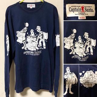 キャプテンサンタ(CAPTAIN SANTA)の日本製 Captain Santa キャプテンサンタ × POPEYE ロンT(Tシャツ/カットソー(七分/長袖))