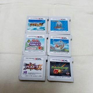 ニンテンドー3DS(ニンテンドー3DS)の3DSソフト 6点セット(携帯用ゲームソフト)
