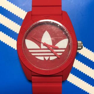 アディダス(adidas)の激カワ!adidas アディダス 腕時計 赤(腕時計)
