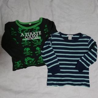 エイチアンドエム(H&M)の子供服 2枚セット(Tシャツ/カットソー)