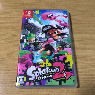 Nintendo Switch - splatoon2 ソフト