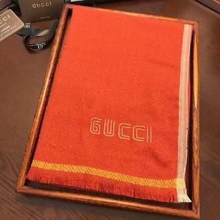 グッチ(Gucci)のGUCCI マフラー オレンジ ✪ 冬物 可愛い(マフラー/ショール)