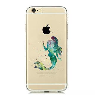 ディズニー(Disney)のiPhone ケース ♡ 水彩 アリエル (iPhoneケース)