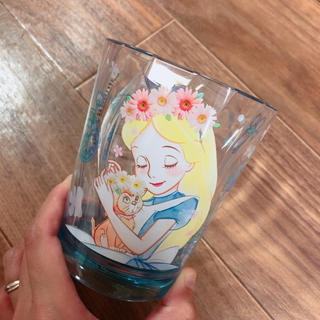 ディズニー(Disney)の新品♡アリス♡クリスタルカップ(グラス/カップ)