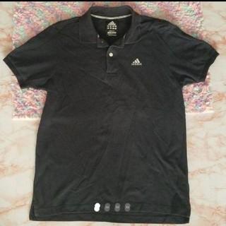 アディダス(adidas)のadidas ポロシャツ s 紺(ポロシャツ)