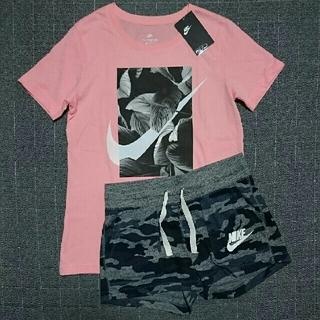 ナイキ(NIKE)の新品 NIKE 二点セット M Tシャツ ショートパンツ ナイキ(ショートパンツ)
