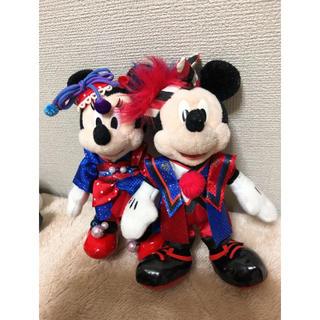 ディズニー(Disney)のディズニー夏祭り2012 ミキミニ ぬいぐるみバッジ(ぬいぐるみ)