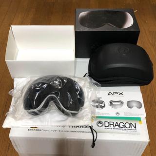 DRAGON - ドラゴン APX ゴーグル 美品