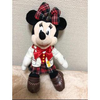 ディズニー(Disney)のミニー 制服コスチューム ぬいぐるみバッジ(ぬいぐるみ)