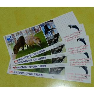 即日発送!新江ノ島水族館 チケット 4枚セット 入場券 招待券(水族館)