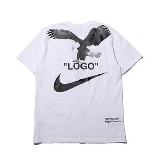ナイキ(NIKE)の新品 未使用 L ナイキ オフホワイト tシャツ supreme(Tシャツ/カットソー(半袖/袖なし))