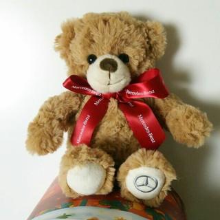 メルセデスベンツ ノベルティ テディベア ぬいぐるみ  クリスマス プレゼント(ぬいぐるみ)
