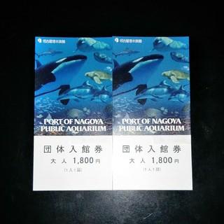 名古屋港水族館 入館券 2枚(水族館)