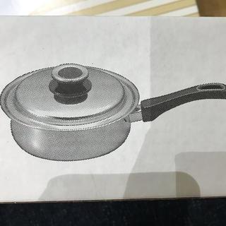 タッパーウェア 17cm&19cm片手鍋 新品未開封(鍋/フライパン)