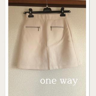 ワンウェイ(one*way)のone way  スカート♡(ミニスカート)