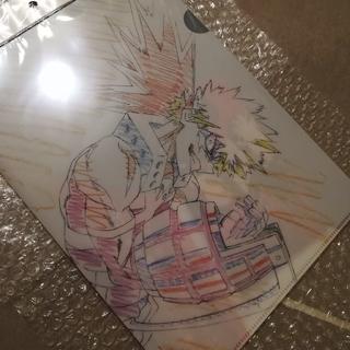 僕のヒーローアカデミア 原画クリアファイルセット【切島/爆豪ver】(クリアファイル)