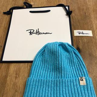 ロンハーマン(Ron Herman)の早い者勝ち‼️ロンハーマンニット帽子新品 男女兼用(ニット帽/ビーニー)