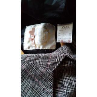 シマムラ(しまむら)の3着 リズメロ ワンピース風 コート ピンク系 トップス(トレンチコート)