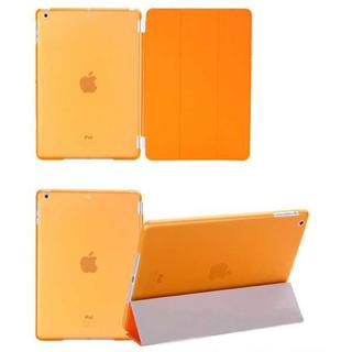 iPad Air2 オレンジ 分離式 タブレットケース スマートカバー(iPadケース)